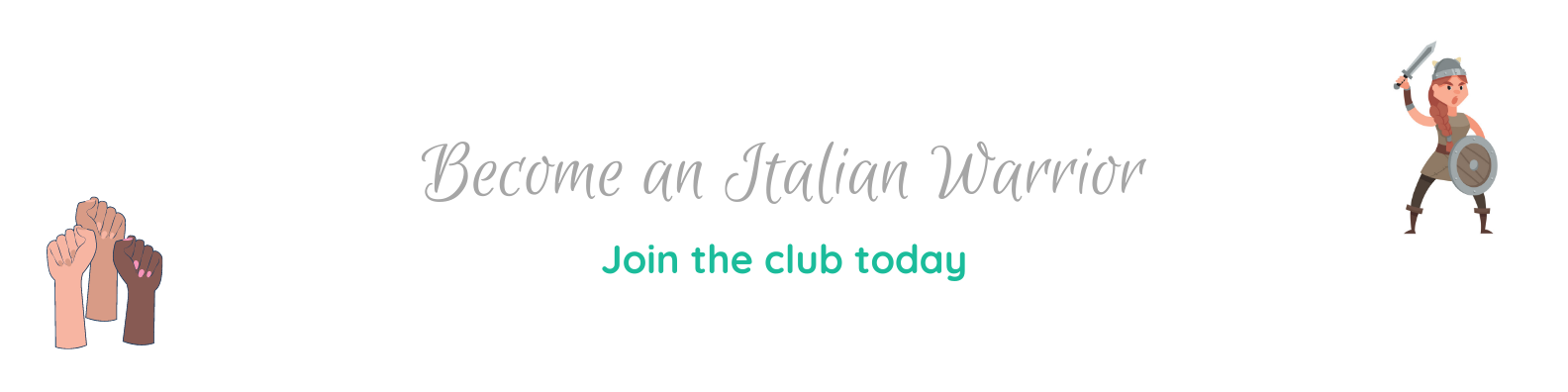 Join the Italian Warriors Club